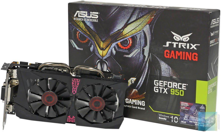 asus geforce gtx 950 drivers
