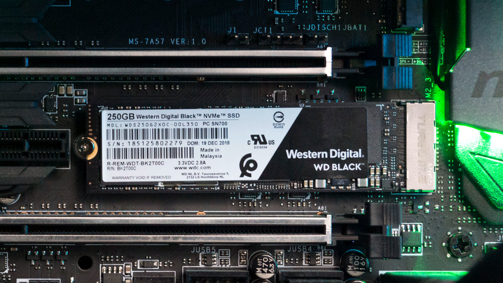 Обзор и тестирование накопителя WD Black NVMe SSD объемом 250 ГБ