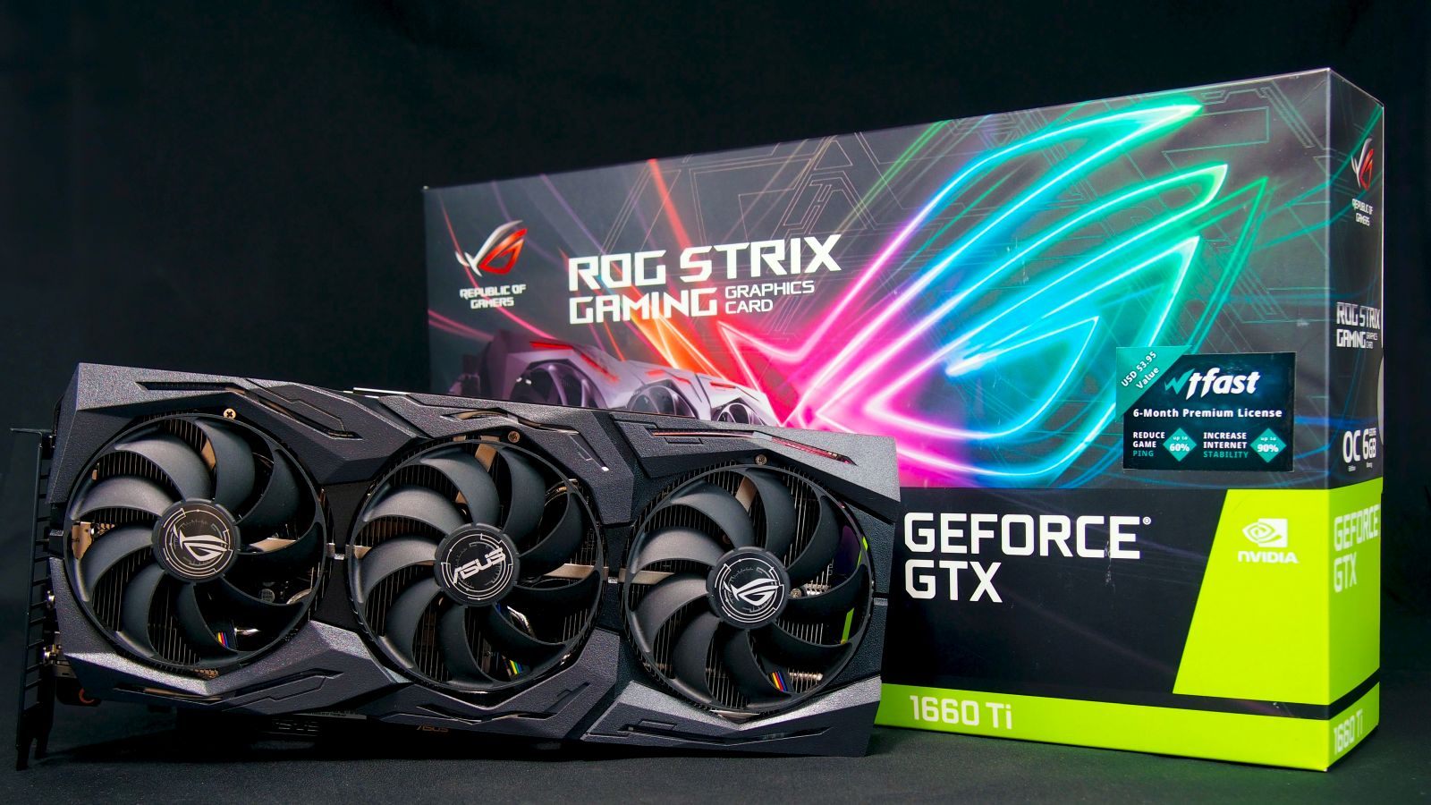 Обзор и тест видеокарты ASUS ROG Strix GeForce GTX 1660 Ti OC