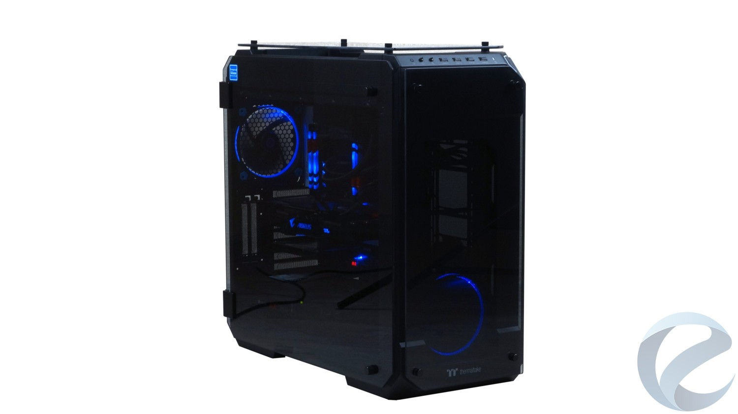 Обзор корпуса Thermaltake View 71 Tempered Glass Edition