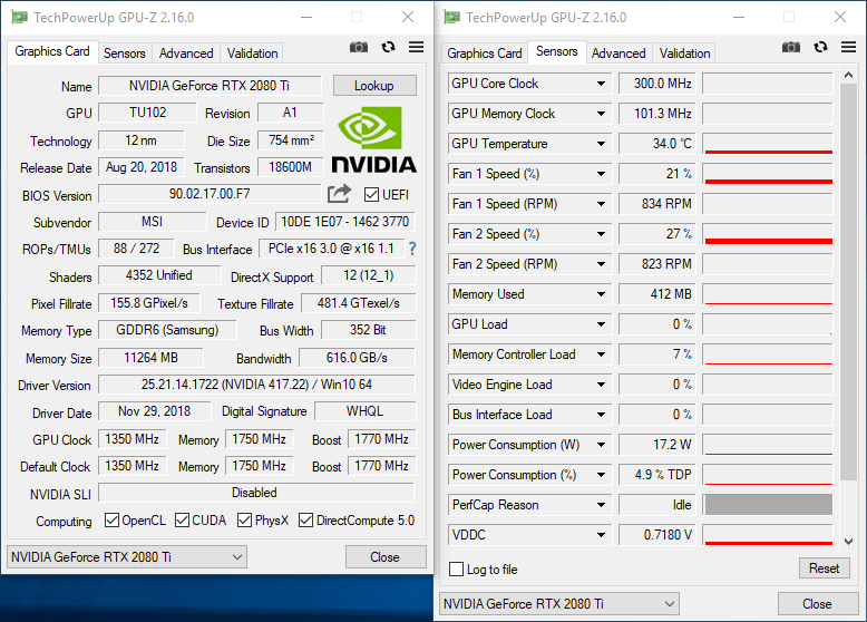 Обзор и тест видеокарты MSI GeForce RTX 2080 Ti Lightning Z