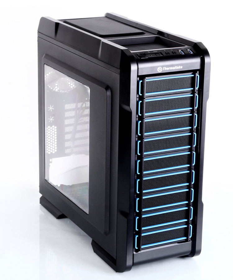 Обзор middle-tower корпуса Thermaltake Chaser A31