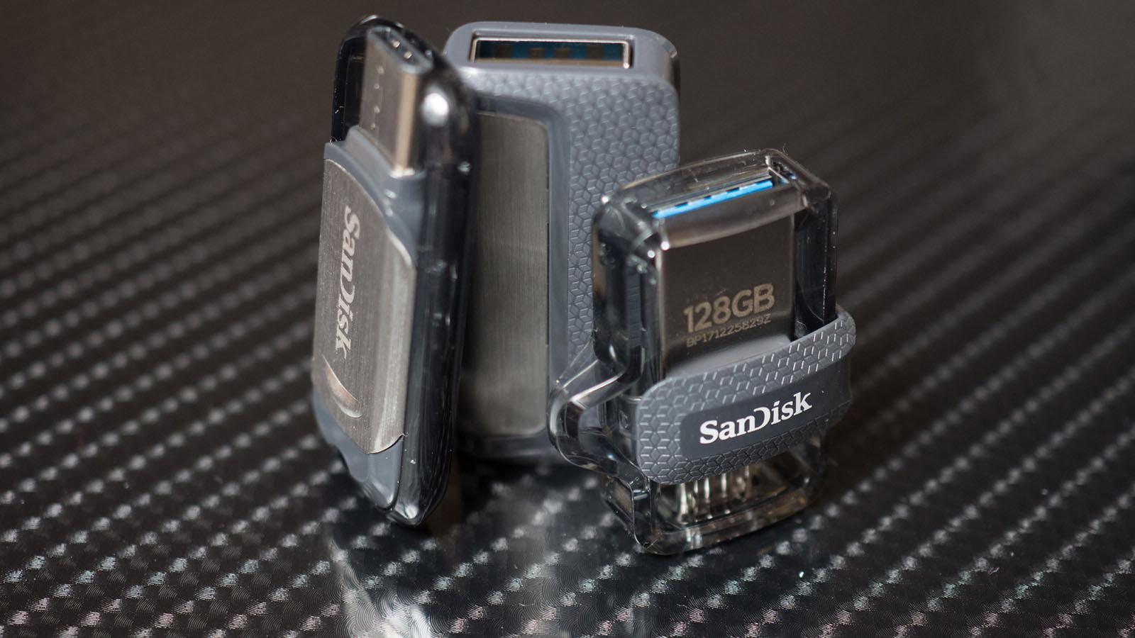 Обзор USB флеш-накопителей SanDisk Ultra USB Type-C, Ultra