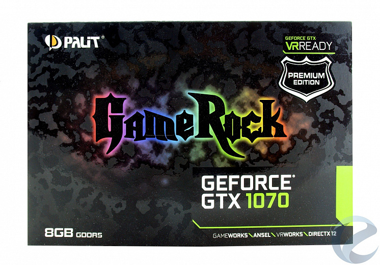 Обзор и тест видеокарты Palit GeForce GTX 1070 GameRock Premium Edition (NE51070H15P2-1041G)