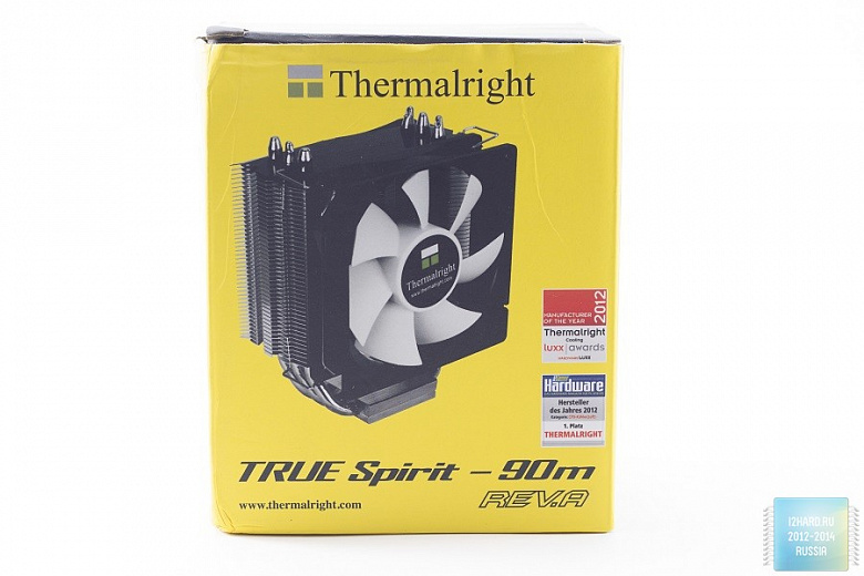 Обзор и тест процессорного кулера Thermalright TRUE Spirit 90M Rev.A