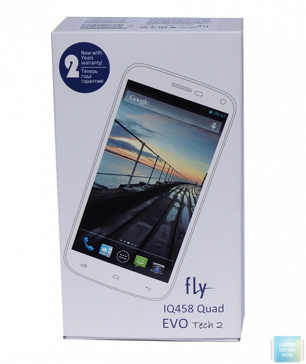 Обзор и тест Fly IQ458 Quad (EVO Tech 2)