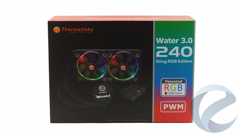 Обзор и тест Thermaltake Water 3.0 Riing RGB 240