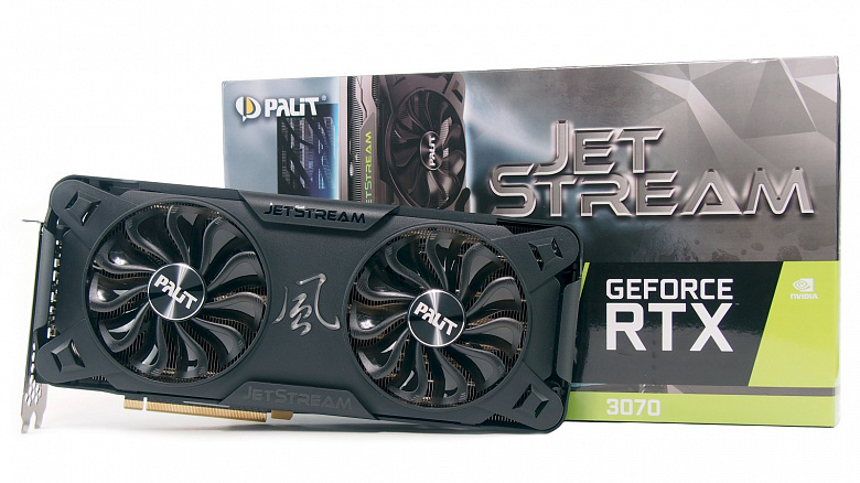 Обзор и тест видеокарты Palit GeForce RTX 3070 JetStream OC