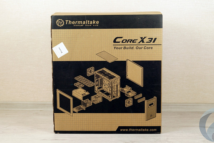 Обзор корпуса Thermaltake Core X31 Tempered Glass Edition