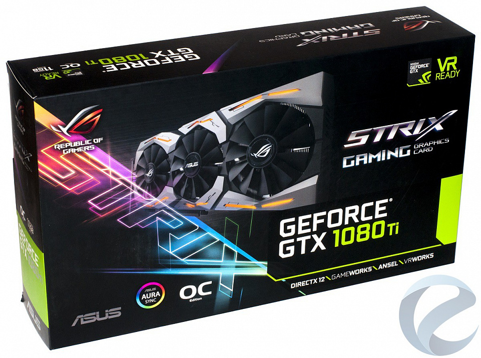 Обзор и тестирование видеокарты ASUS ROG GeForce GTX 1080 Ti Strix OC (ROG-STRIX-GTX1080TI-O11G-GAMING)