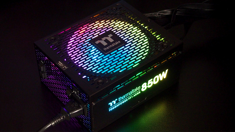 Обзор и тест Thermaltake Toughpower PF1 ARGB 850W