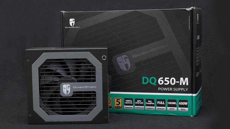 Обзор и тестирование блока питания GamerStorm DQ650-M с сертификатом 80PLUS Gold