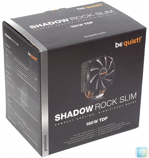 Обзор и тест кулера be quiet! Shadow Rock Slim
