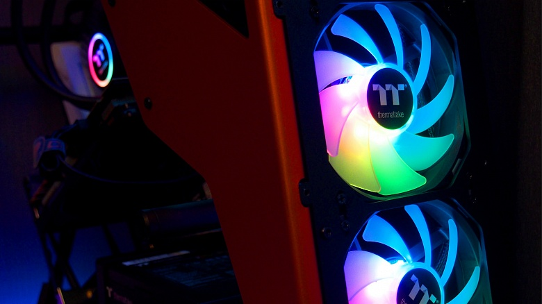 Обзор и тест Thermaltake Pure 12 ARGB Sync Radiator Fan TT Premium Edition