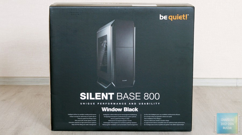 Обзор и тест корпуса be quiet! Silent Base 800 Window