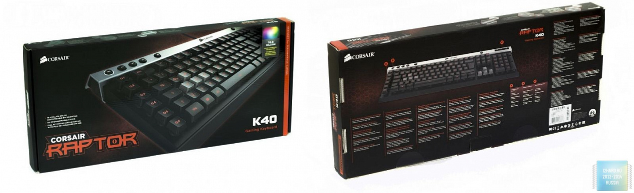 Обзор и тестирование клавиатуры Corsair Raptor K40 Gaming Keyboard (CH-9000051-NA)