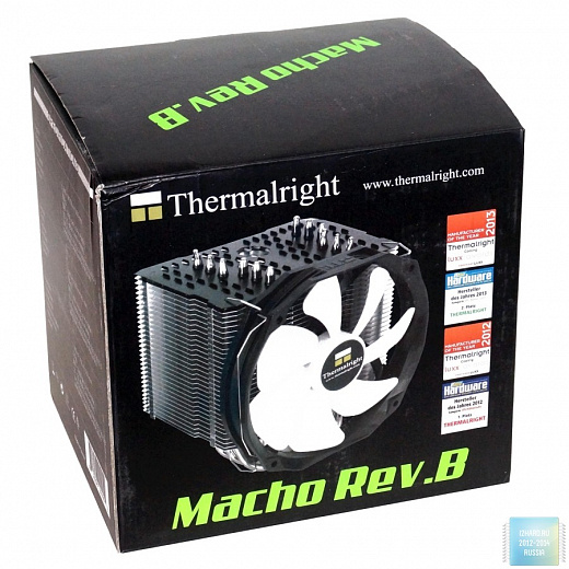 Обзор и тест Thermalright Macho Rev.B