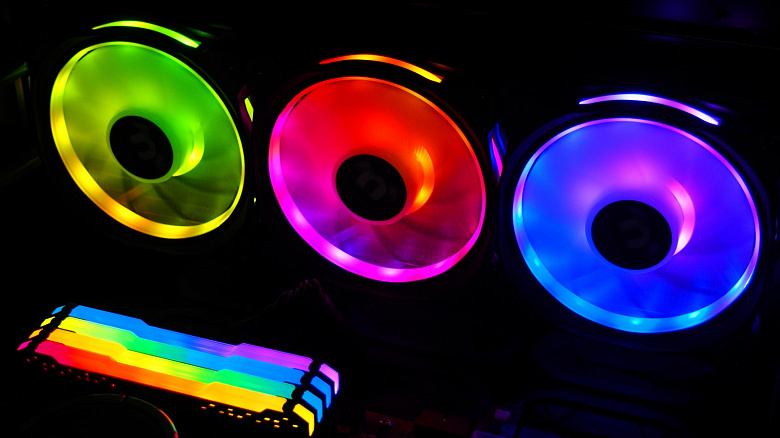 Обзор комплекта вентиляторов Thermaltake Riing Duo 12 RGB Radiator Fan TT Premium Edition