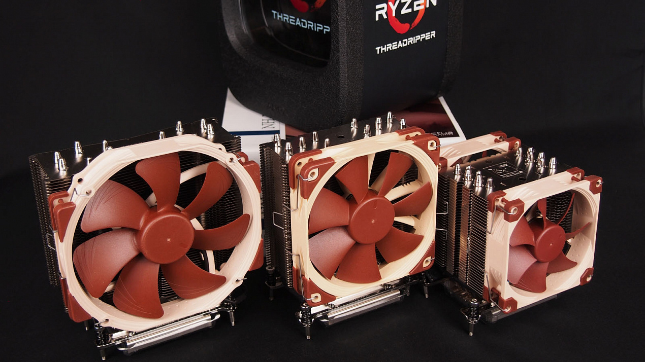 Обзор и тест кулеров Noctua для процессоров AMD Ryzen Threadripper