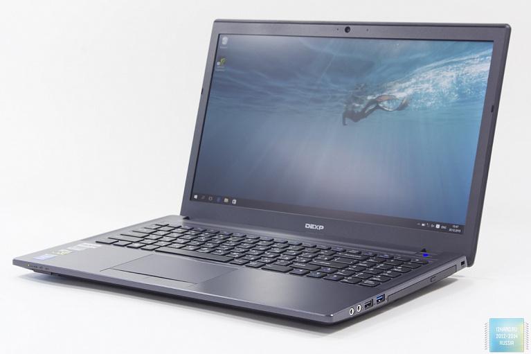 Обзор игрового ноутбука DEXP Achilles G115: производительный и доступный