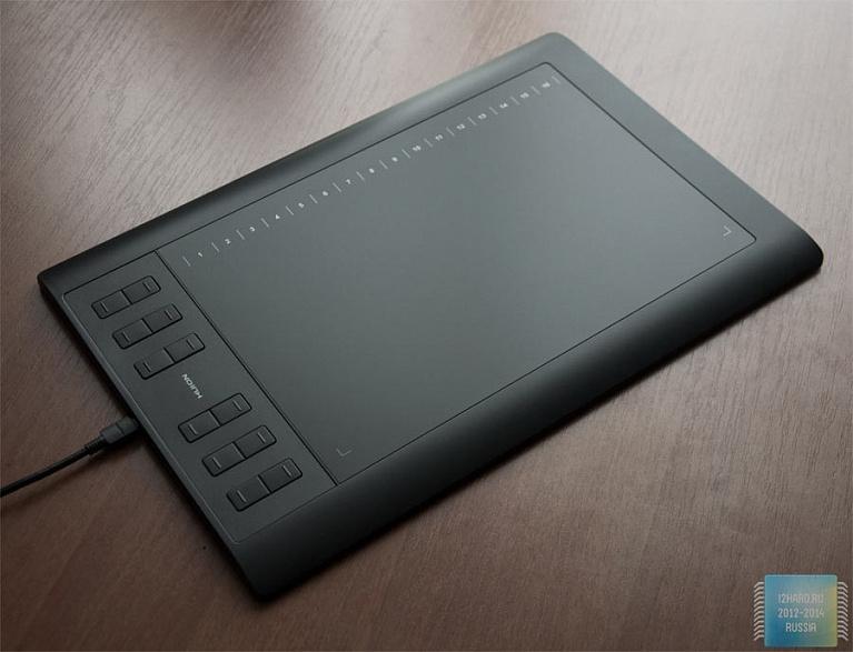 Обзор графического планшета Huion 1060PRO+