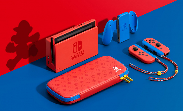 Nintendo представила Mario Red & Blue Edition Switch