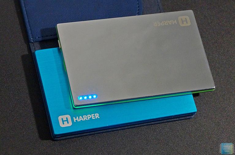 Обзор и тестирование внешних аккумуляторов Harper PB-2000 и PB-2002
