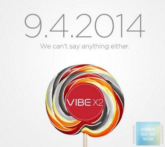 представлен Lenovo Vibe X2