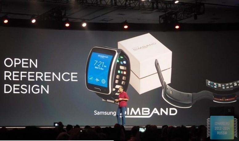 Samsung представила фитнес-браслет для разработчиков