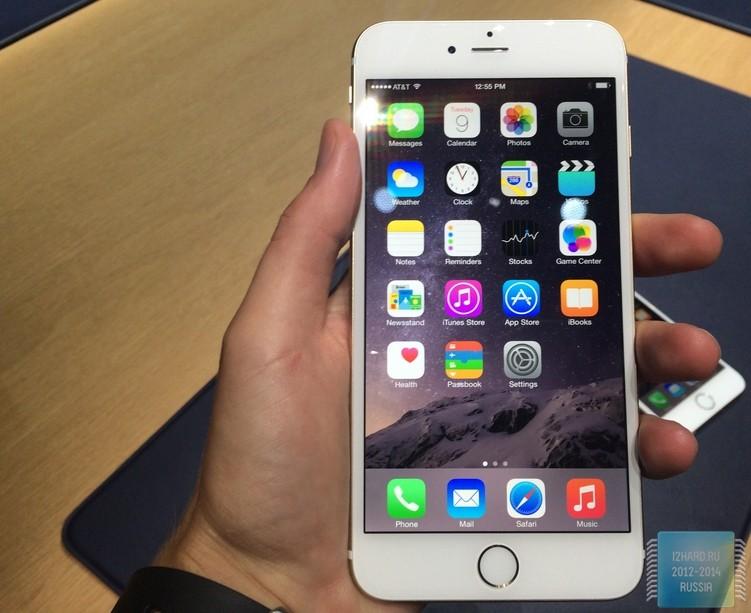 У некоторых iPhone 6 Plus проблемы с камерой