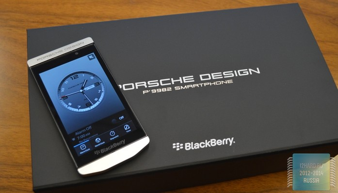 BlackBerry Porsche Design P'9983 (Khan)
