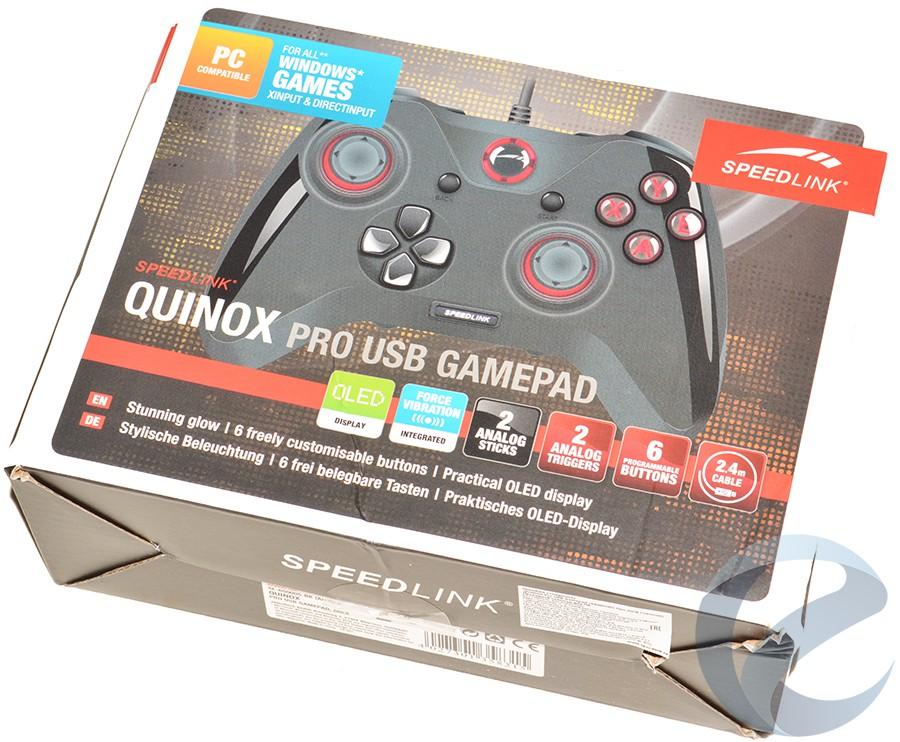 quinox gamepad software