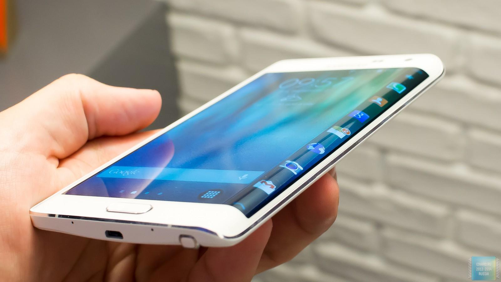 В Корее начались продажи Samsung Galaxy Note Edge