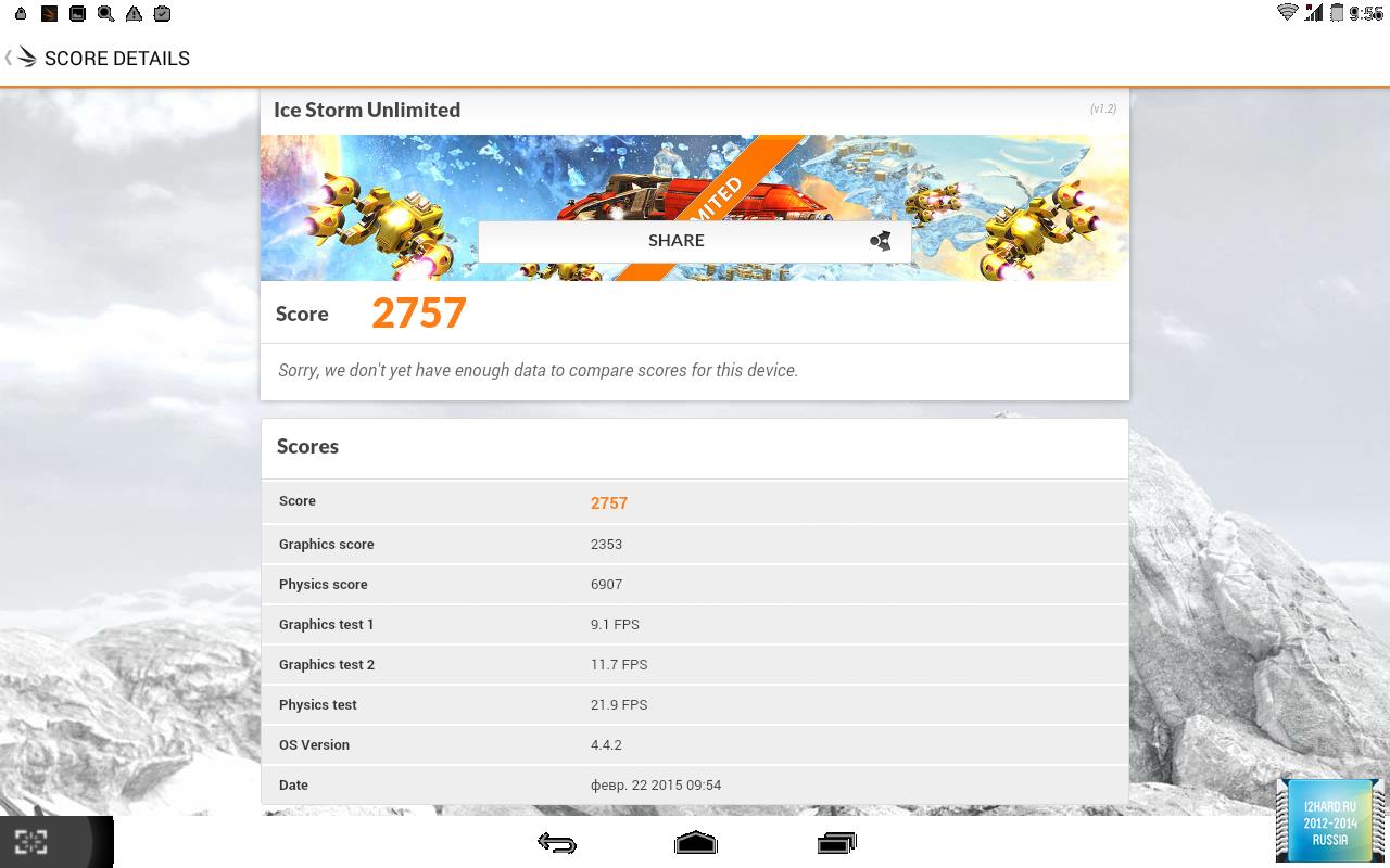 Тестирование планшета TurboPad Flex 8