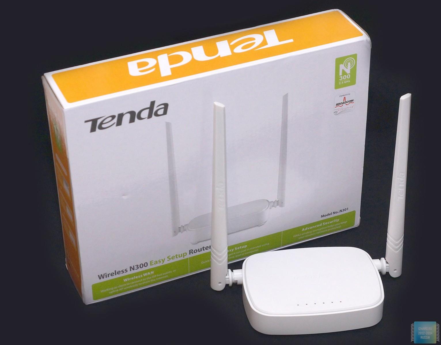 Tenda Wireless N301 I2hard Router 3 In 1 1000 300
