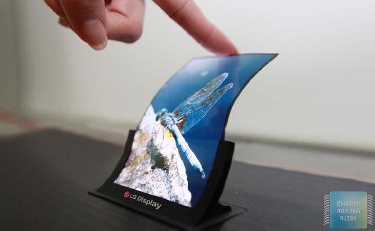 LG гибкий дисплей