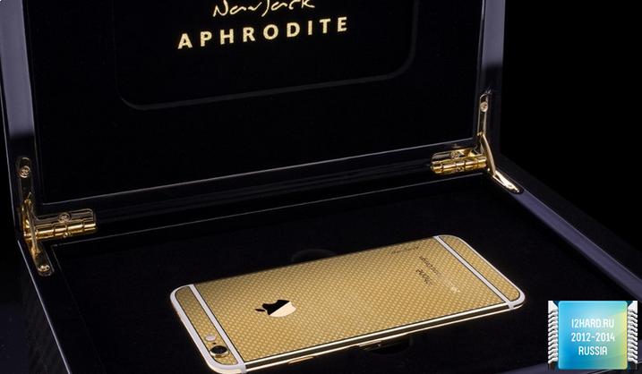 24-каратным золотом iPhone 6
