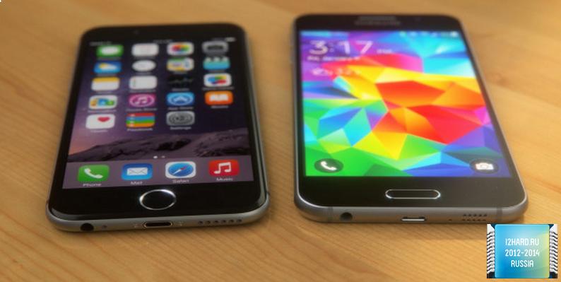 iPhone 6 обогнал Galaxy S6