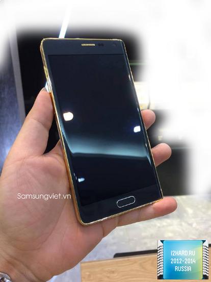 золотой Galaxy Note Edge