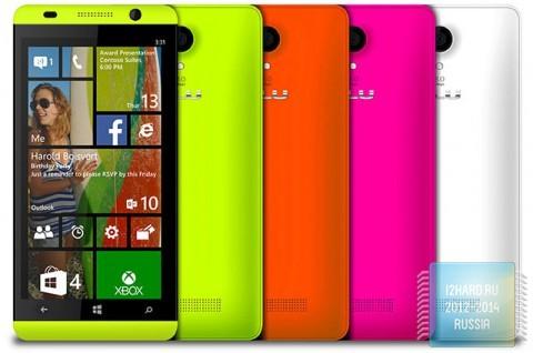 Новые смартфоны на Windows Phone 8.1 были представлены на выставке Computex
