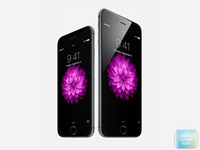 продаж iPhone 6 и iPhone 6 Plus