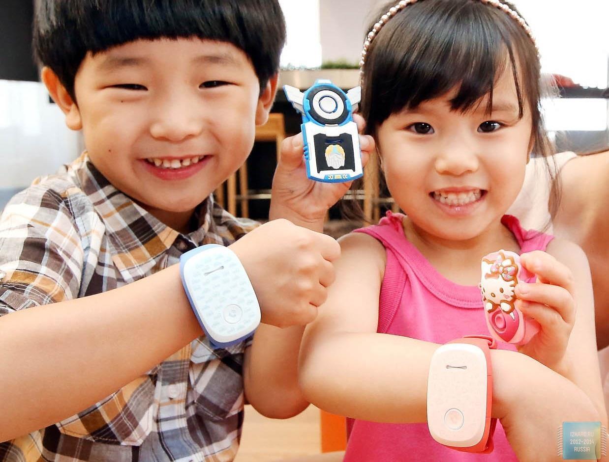 LG представила носимое устройство для детей