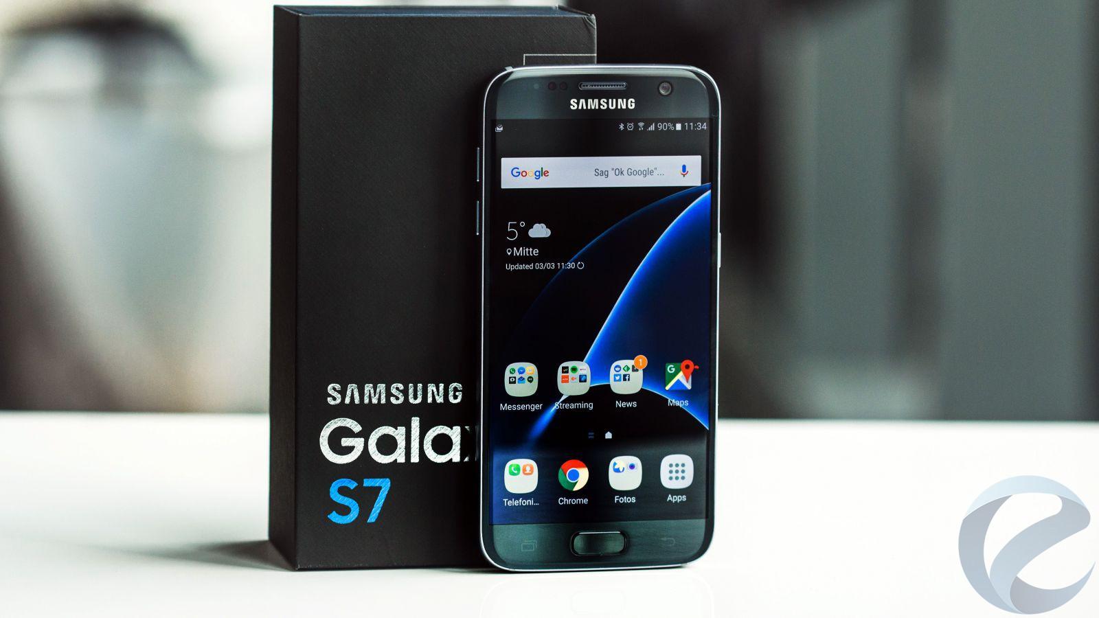 Смартфон Galaxy S7 неопасны для пользователя— Самсунг успокаивает