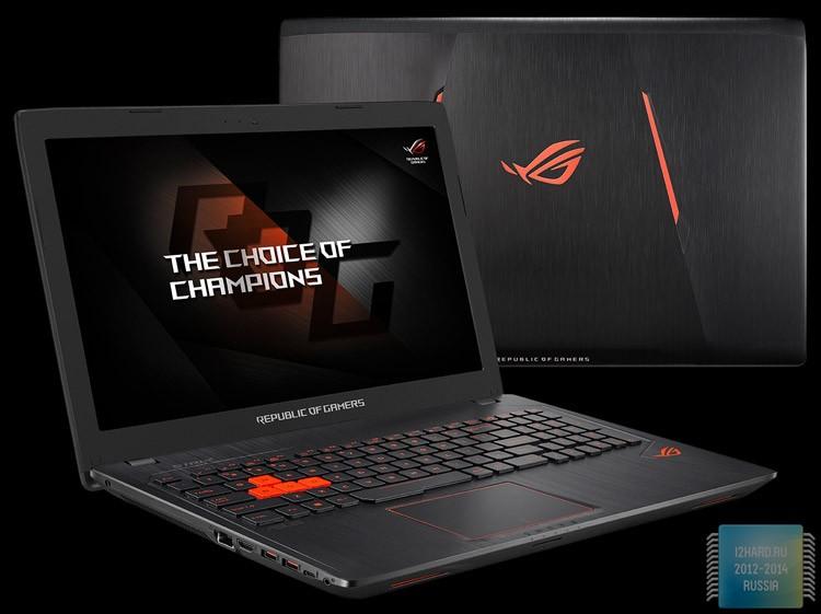 ASUS анонсировала геймерский ноутбук ROG Strix GL553VW