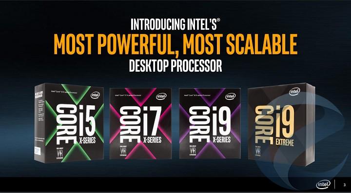 Продажи некоторых процессоров Core i9 стартуют наследующей неделе