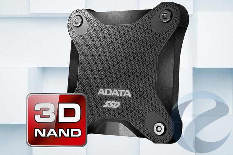 Вышел защищённый SSD Adata SD600
