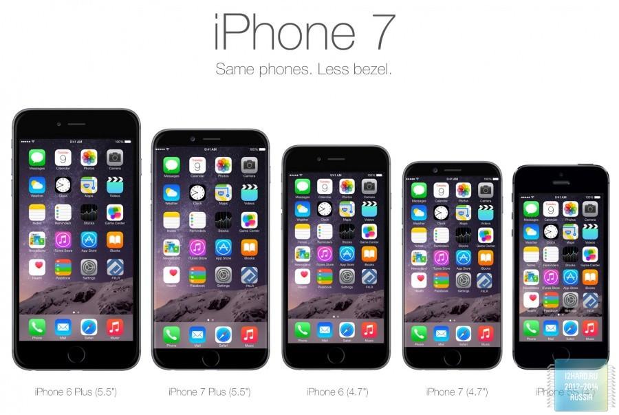 IPhone 7 получит неменее емкую батарею