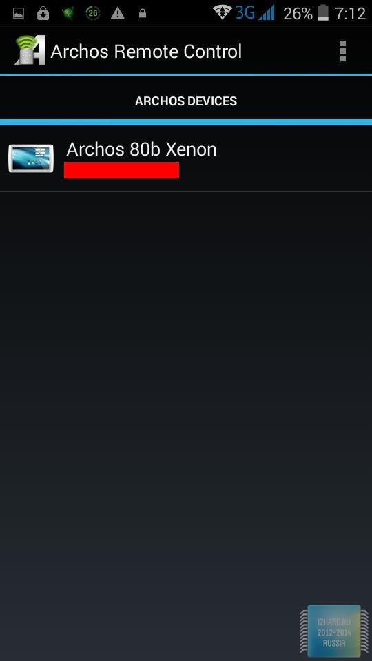 Программное обеспечение планшета ARCHOS 80b Xenon