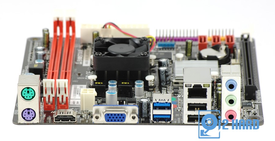 Микросхема чипсета накрыта