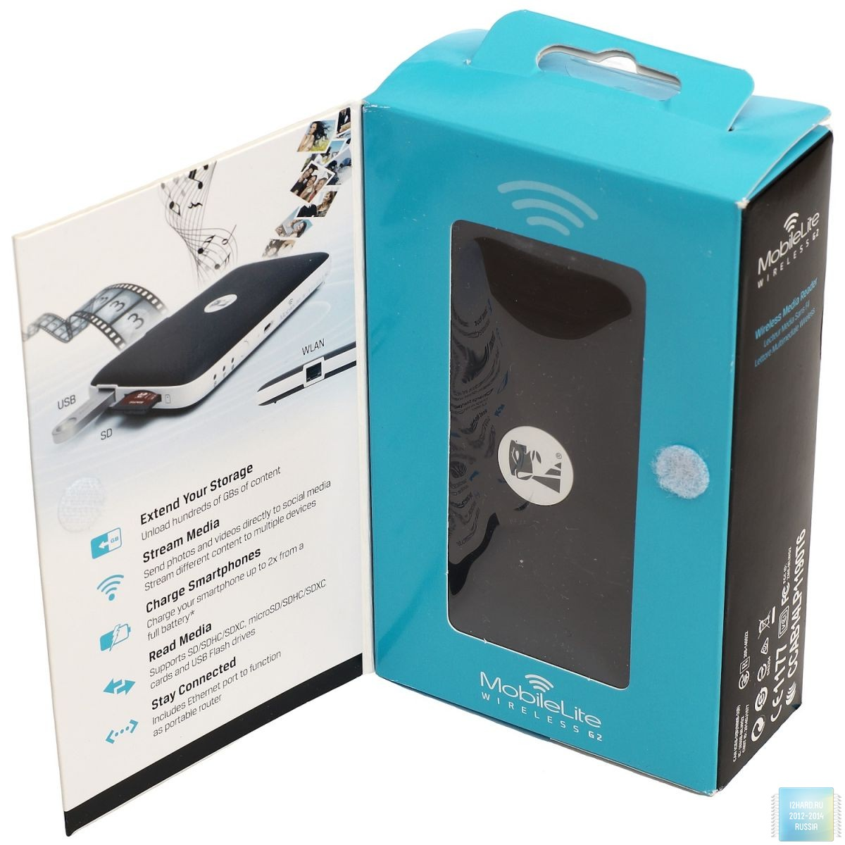 Kingston MobileLite Wireless G2. Упаковка